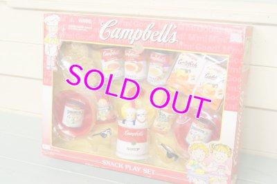画像2: 未使用 Campbells☆ビンテージ キャンベル スナック プレイセット☆