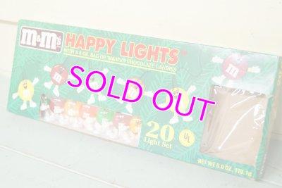 画像3: 未使用M&M's☆Christmas/クリスマス デコレーションライト☆HAPPY LIGHT