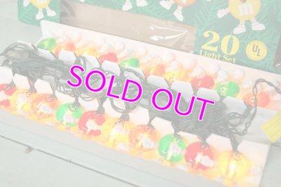 画像2: 未使用M&M's☆Christmas/クリスマス デコレーションライト☆HAPPY LIGHT