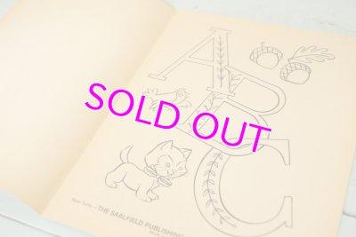 画像2: SAALFIELD 未使用☆ビンテージ カラーリングブック☆ABC Book to COLOR