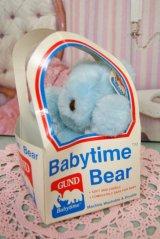 80's☆GUND/ガンド製 ビンテージ Babytime Bear☆