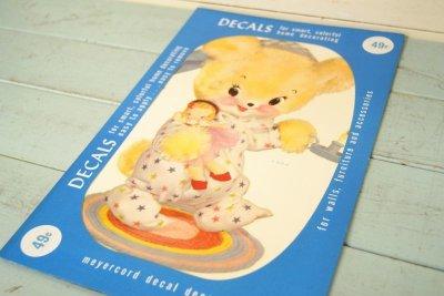 画像1: レア!☆MEYERCORD  DECAL デカールシール☆X 419-A