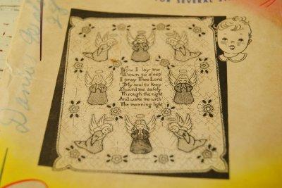 画像2: ☆刺繍パターン・サンプラー☆Little Angels